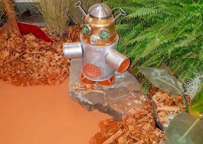 Concours de fabrication de robots